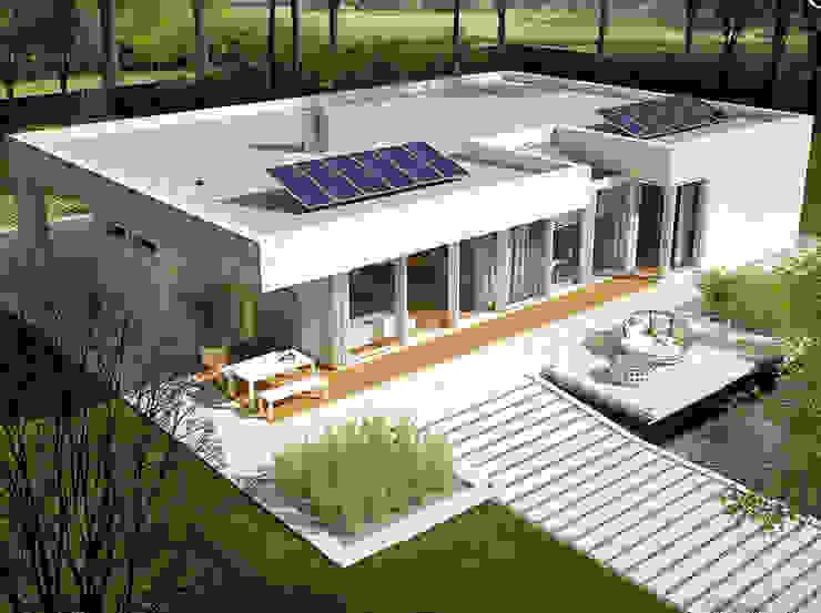 Casa moderna de FHS Casas Prefabricadas de FHS Casas Prefabricadas Moderno Metal