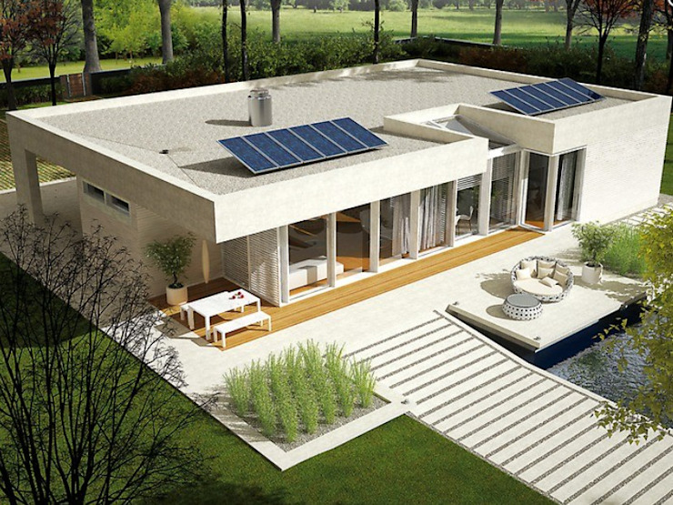 par FHS Casas Prefabricadas Moderne Métal