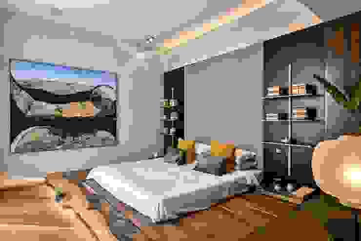 Premium Villa Minimalist bedroom by Racheta Interiors Pvt Limited Minimalist