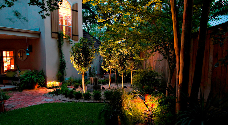 Garden Lighting by The Roodepoort Electrician Tropical