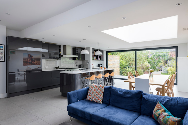 House Extension, Southgate, London bởi Model Projects Ltd Hiện đại