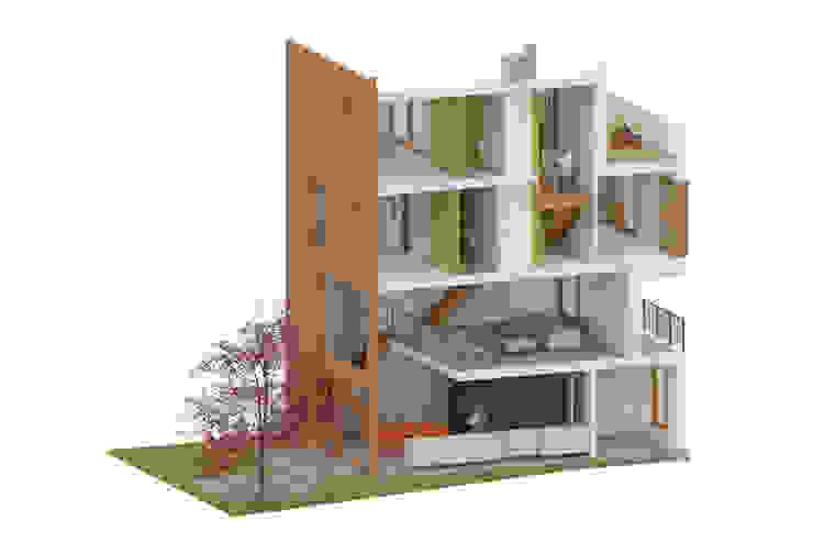 CPO lofthuis Utrecht van Bergblick interieurarchitectuur Modern