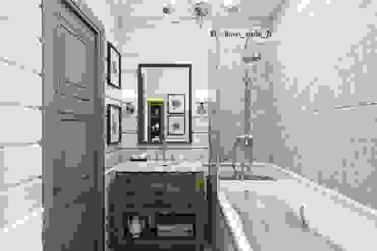 Ванная комната Ванная в классическом стиле от Diveev_studio#ZI Классический