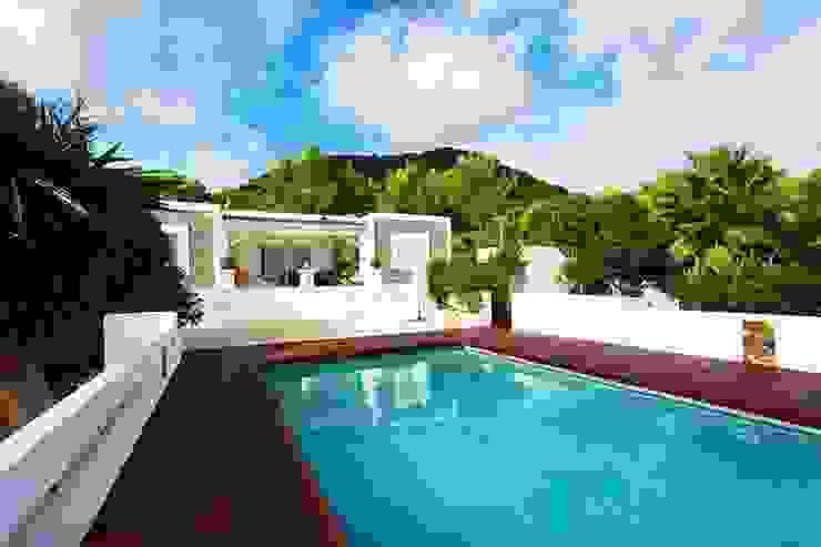 Rustic style house in Sant Josep De Sa Talaia CW Group - Luxury Villas Ibiza Villas Bricks Multicolored