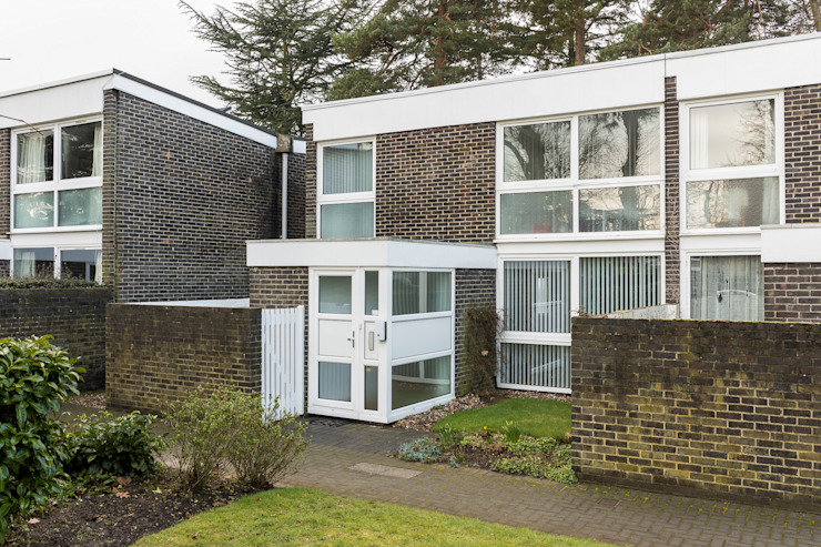 House Refurbishment, Weybridge, London モダンな 家 の Model Projects Ltd モダン