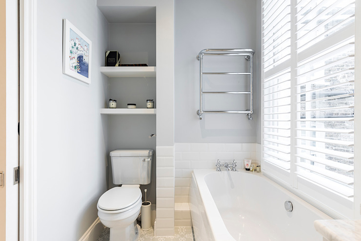 Jess & Hugo's Shepherd's Bush Renovation Model Projects Ltd Classic style bathroom