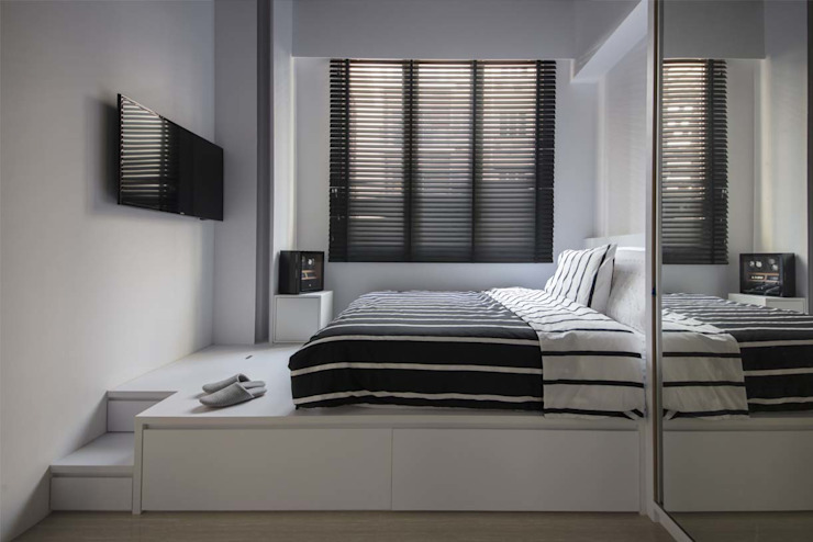 ECO Modern style bedroom by Eightytwo Pte Ltd Modern
