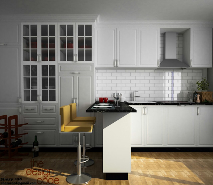 Kitchen units by homify, Modern Plywood