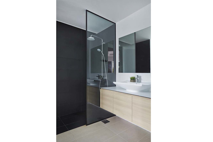 Eightytwo Scandinavian style bathrooms Black