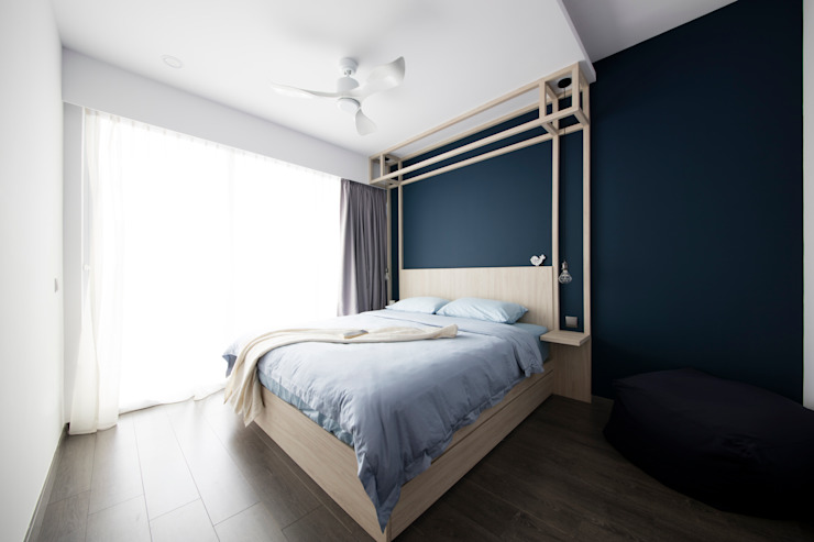 ECOPOLITAN Scandinavian style bedroom by Eightytwo Pte Ltd Scandinavian