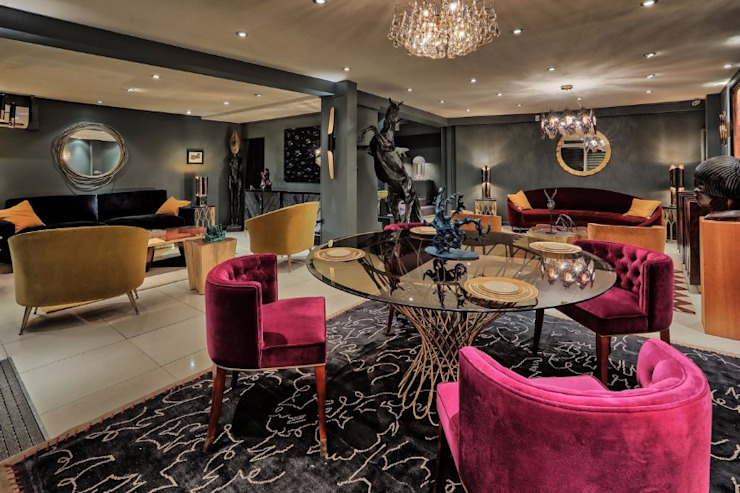 Covet House Paris also means interior design inspiration Modern Living Room by BRABBU Design Forces Modern