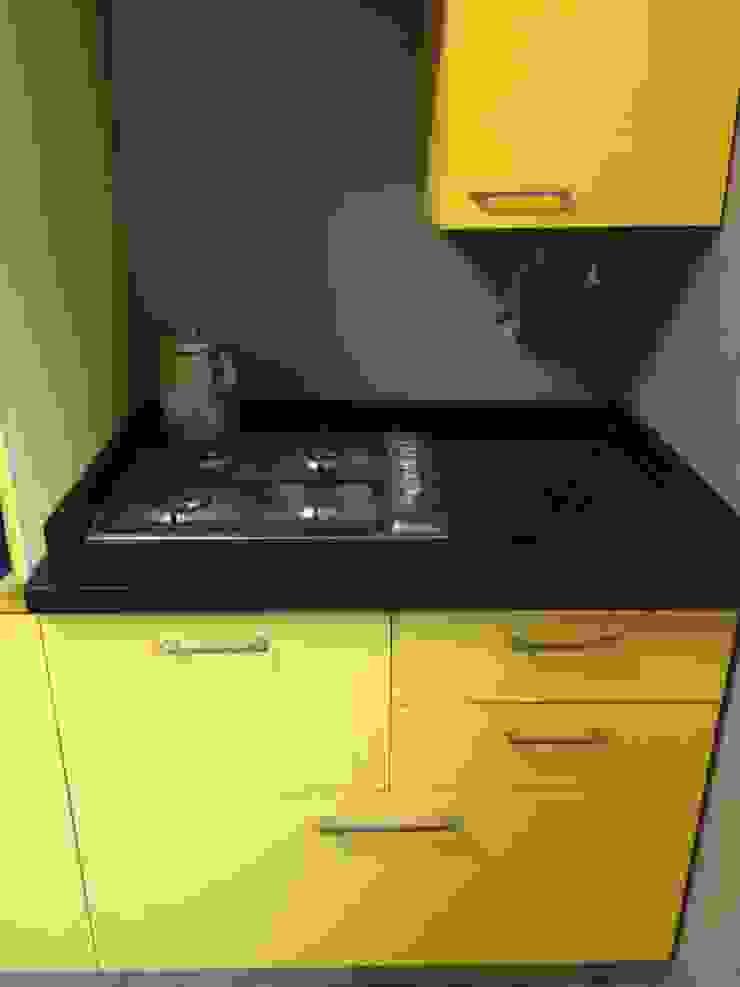 Mobiliario cocina PICHARA + RIOS arquitectos Muebles de cocinas Derivados de madera Amarillo