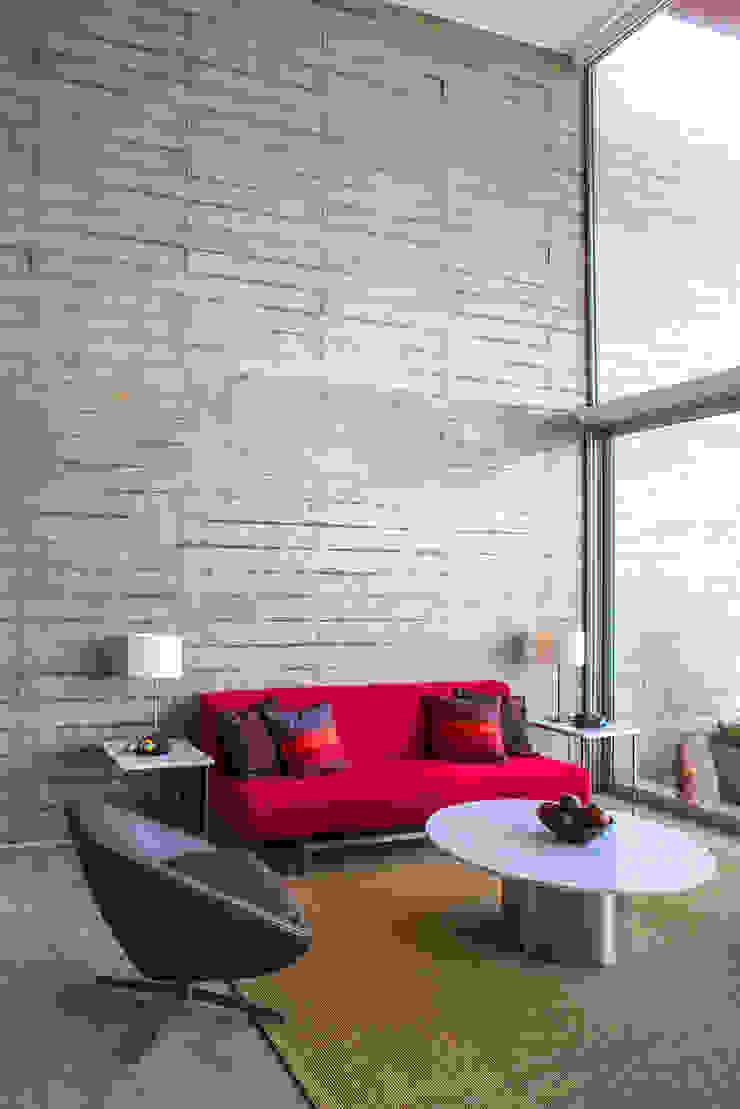 CASA TERRAZA Salas modernas de Chetecortés Moderno