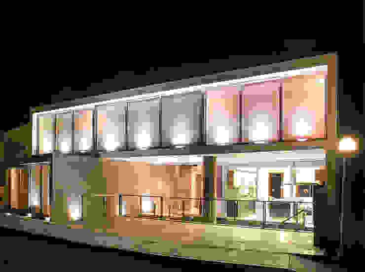 CASA TERRAZA Casas modernas: Ideas, diseños y decoración de Chetecortés Moderno