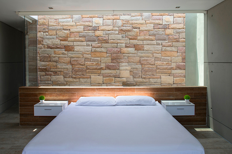 CASA TERRAZA Dormitorios de estilo moderno de Chetecortés Moderno
