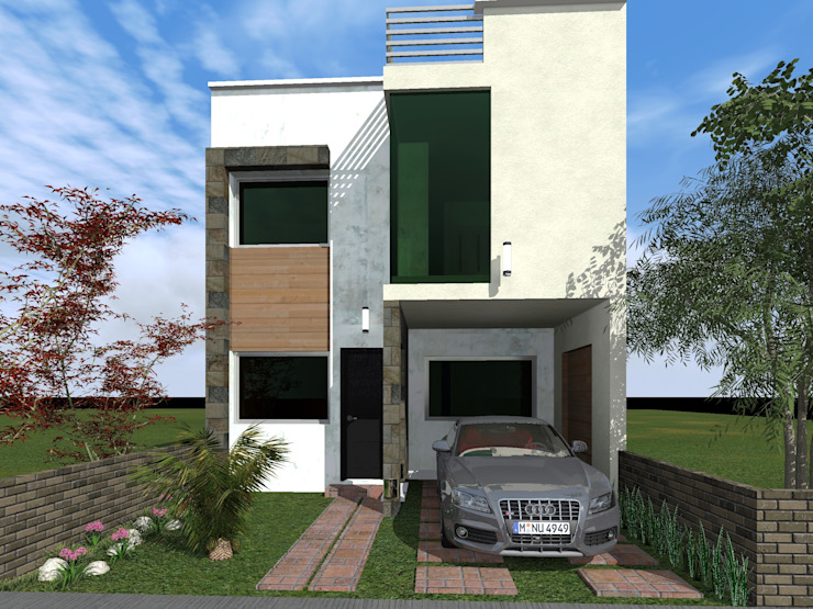 Minimalist houses by HC Arquitecto Minimalist