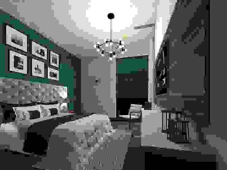 HC Arquitecto Minimalist bedroom
