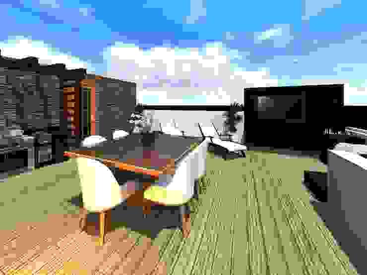Terrasse von HC Arquitecto,