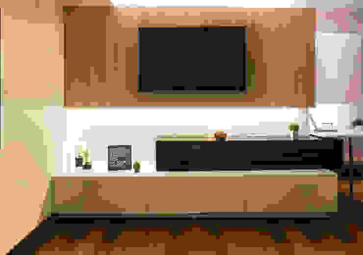 3 SOLID – Mueble TV de Chetecortés Minimalista