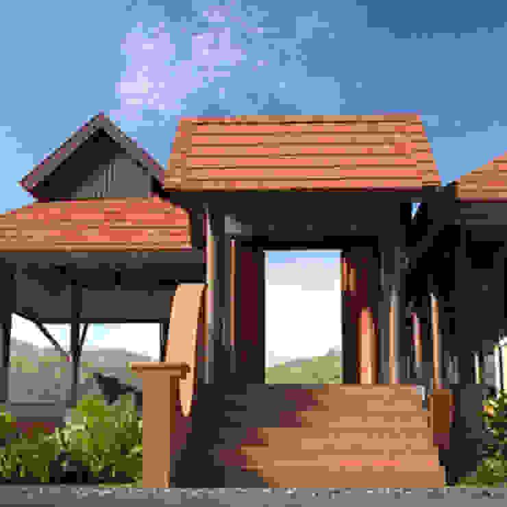 บ้านเชิงดอย โดย t+architecture
