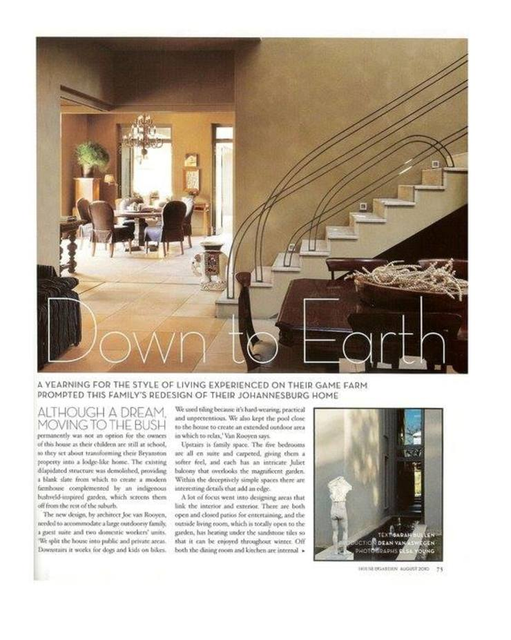 VIEWING OF THE STAIRCASE AND KITCHEN. by Kiara Tiara by Tanja Tomaz Colonial