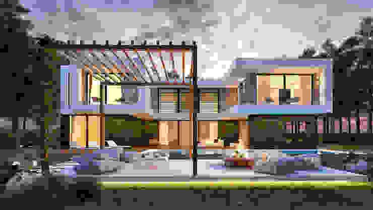 Casas de sonho para l da imagina o for Casa moderno kl