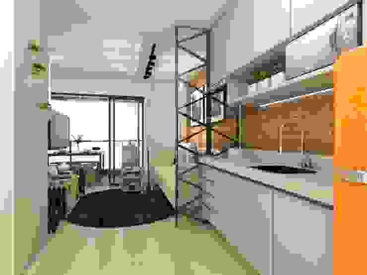 Встроенные кухни в . Автор – Juliana Azanha | Arquitetura e Interiores,