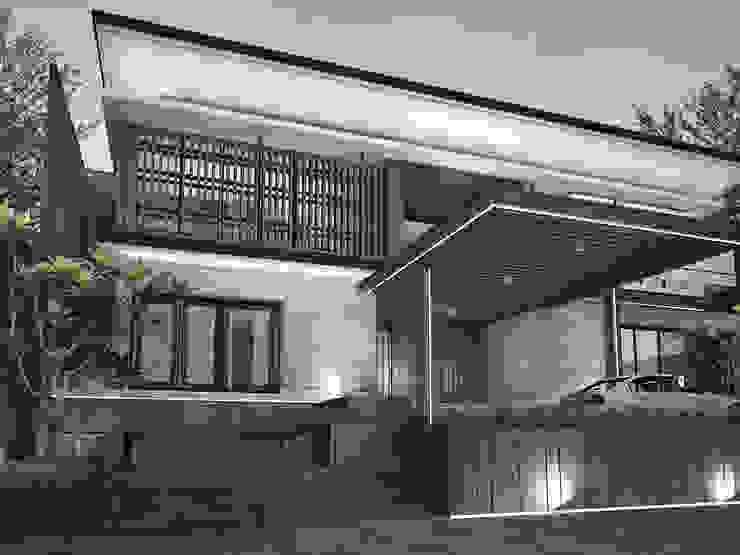 House at Gegerkalong, Bandung, Indonesia Oleh Studio Avana Tropis