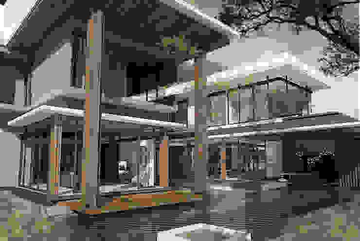 House at Gegerkalong, Bandung, Indonesia Rumah Tropis Oleh Studio Avana Tropis