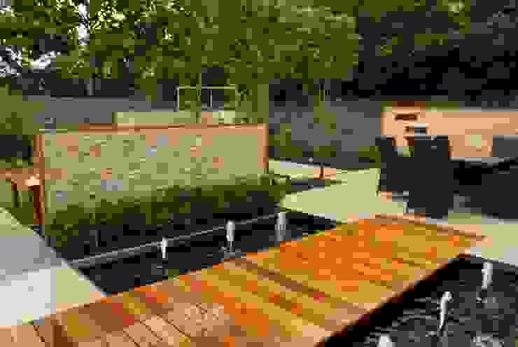 Jardines de estilo  por Hannah Collins Garden Design , Moderno