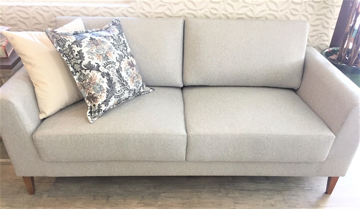 Sgabello Interiores Living roomSofas & armchairs Textile Grey