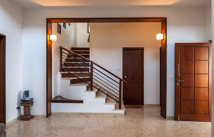 Stairs and Hallway by Myriadhues Modern