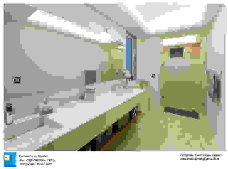 Ванная в колониальном стиле от Excelencia en Diseño Колониальный Мрамор