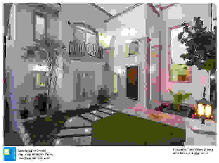 Rumah Gaya Kolonial Oleh Excelencia en Diseño Kolonial