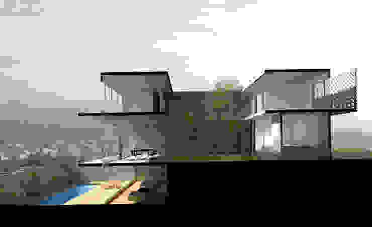 AWA arquitectos Single family home Bricks White