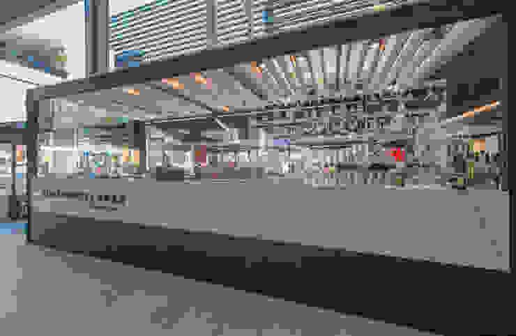 Pomeriggio Mozzarella Bar Exterior de Zoffoli Arquitectura Rústico