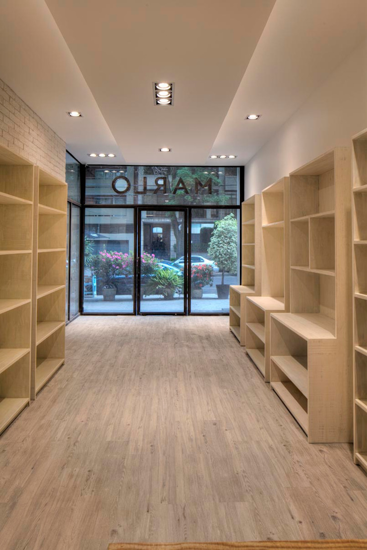 AWA arquitectos Commercial Spaces Wood White