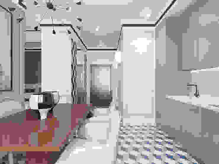 Modern living room by Студия дизайна и визуализации интерьеров Ивановой Натальи. Modern