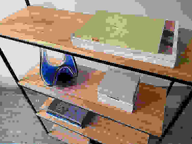 Bibliotecas Minimalistas para tu Hogar y Oficina. de Tienda Quadrat Minimalista Hierro/Acero