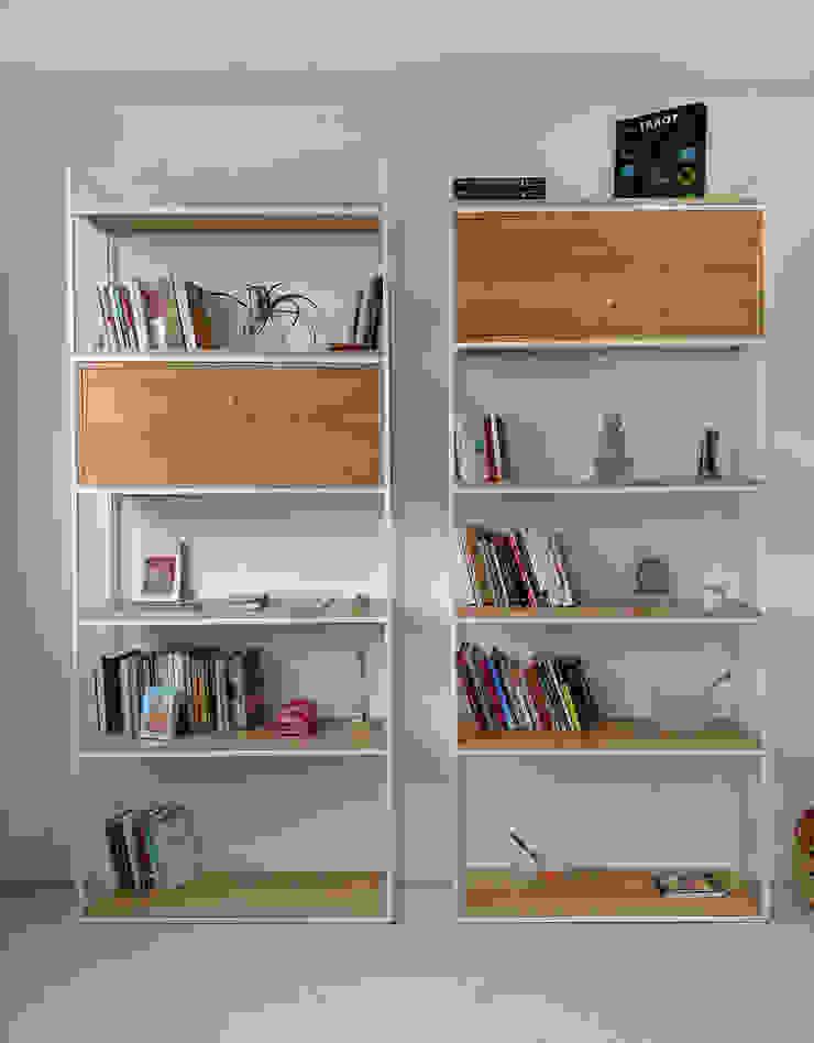 Bibliotecas Minimalistas para tu Hogar y Oficina. de Tienda Quadrat Minimalista Madera Acabado en madera