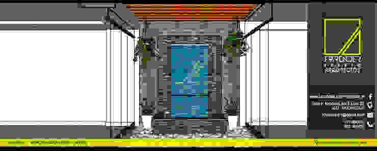 Vista Detalle de F9.studio Arquitectos Moderno Pizarra