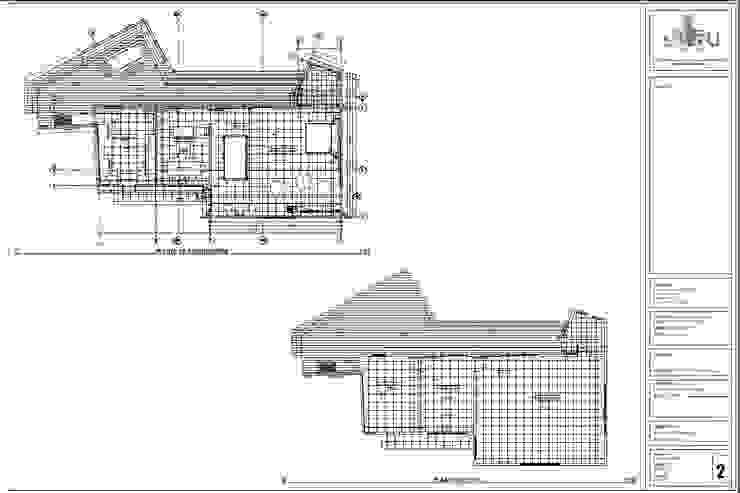 Plano de arquitectura y estructura de homify