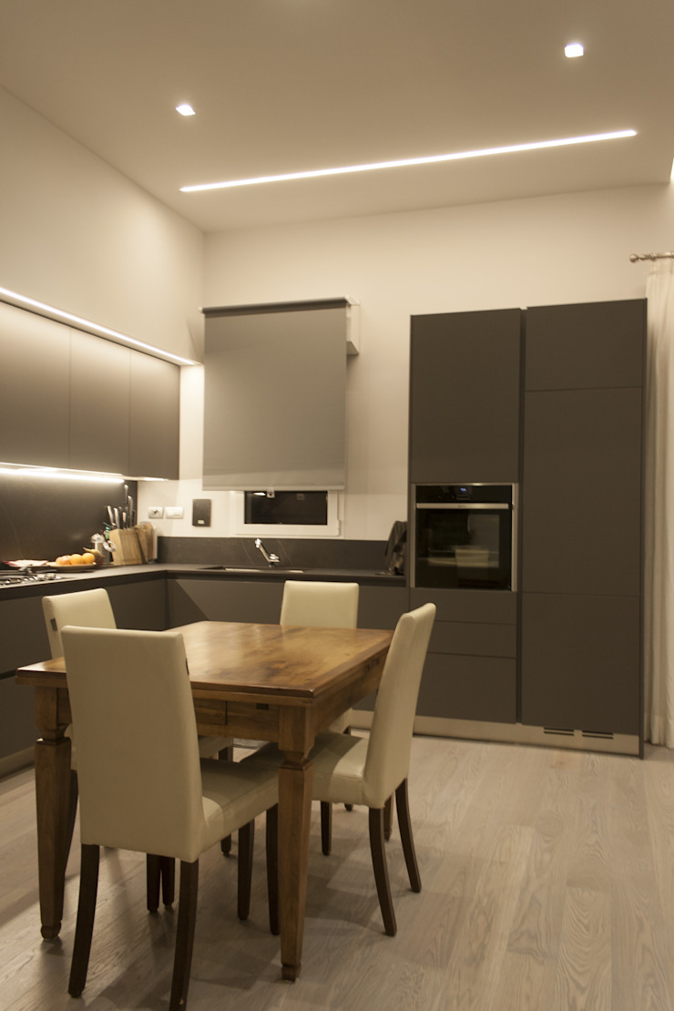 Architettura & Interior Design 'Officina Archetipo' Ruang Makan Modern