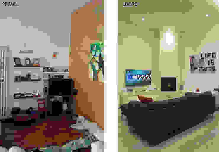 Architettura & Interior Design 'Officina Archetipo' Ruang Keluarga Modern