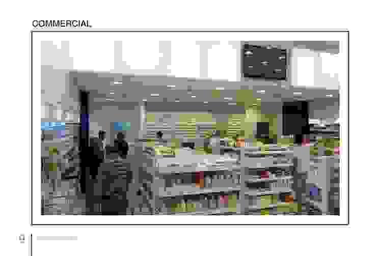 Carrefour Orouba Mall - Alexandria الممر الحديث، المدخل و الدرج من Tebmar حداثي