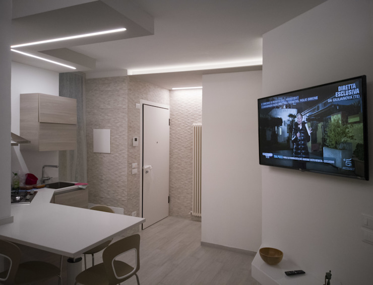Salas de estar modernas por Architettura & Interior Design 'Officina Archetipo' Moderno