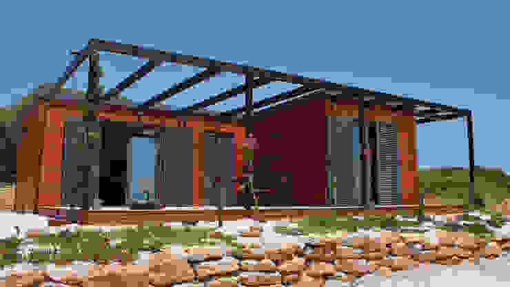 Discovercasa | Casas de Madeira & Modulares 木造住宅 木 ブラウン