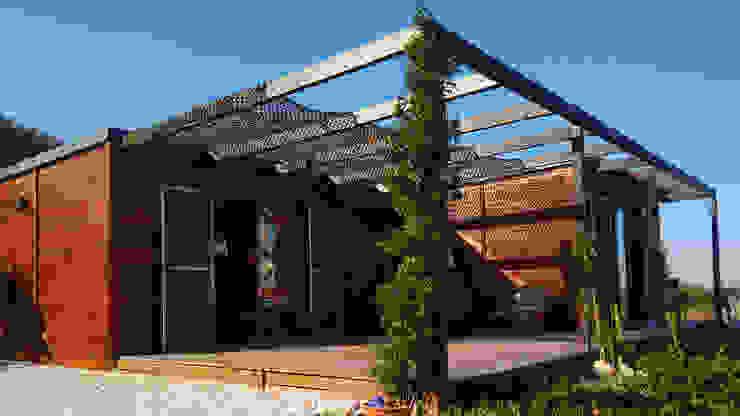 Discovercasa | Casas de Madeira & Modulares Rumah kayu Kayu Brown