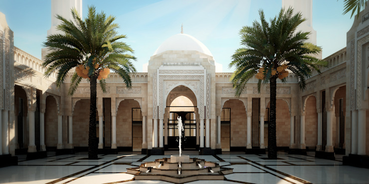 Court by SPACES Architects Planners Engineers Mediterranean