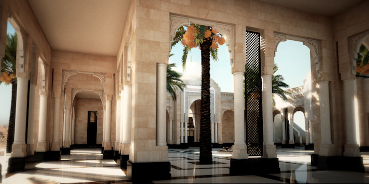 Arcade by SPACES Architects Planners Engineers Mediterranean
